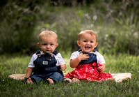 Schafer Twins ~ 1 Year